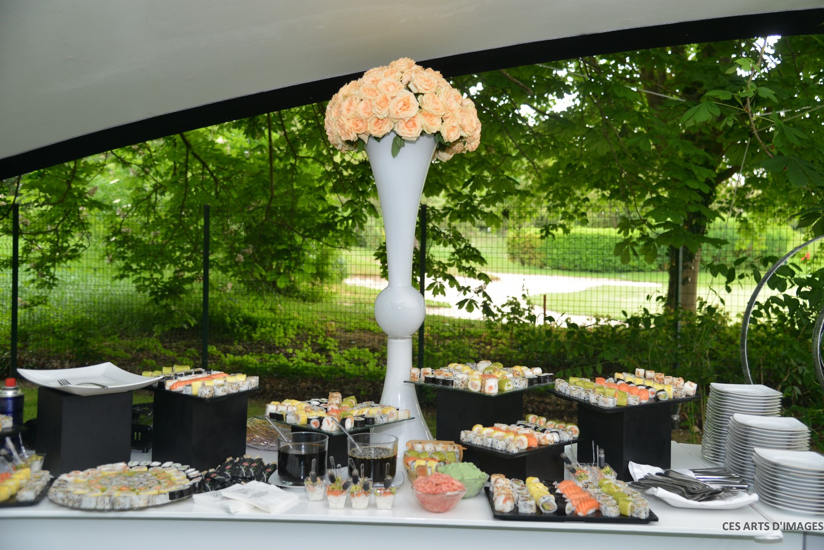 Traiteur cacher buffet sushi